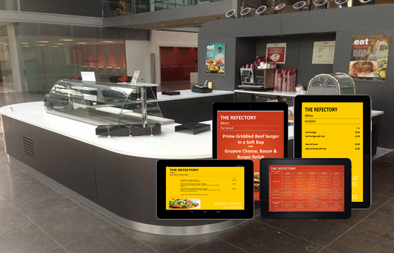 Counter Top Digital Menus