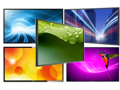 Commercial Displays and Screens