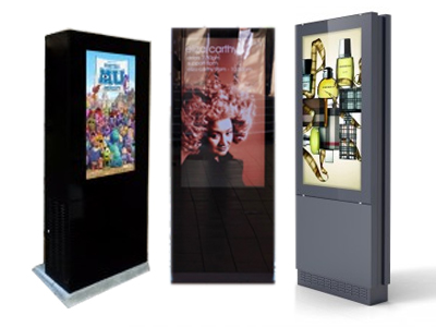 Freestanding Displays and Screens