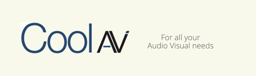 CoolAV.co.uk for all your audio visual harware needs